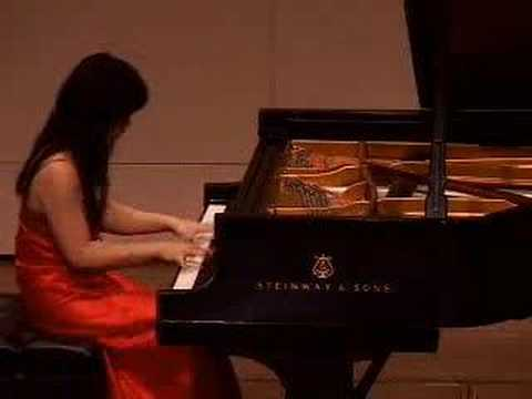 Franz Liszt - Spanish Rhapsody performed by Sa Chen (Part #1of2)