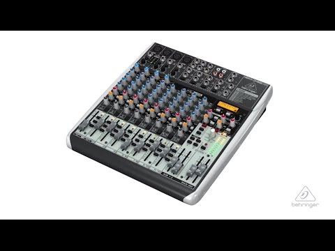 XENYX QX1622USB Small Format Mixer & USB Audio Interface