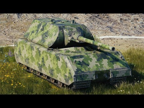 World of Tanks Maus - 4 Kills 11,1K Damage thumbnail