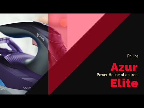 New Philips Azur Elite steam iron