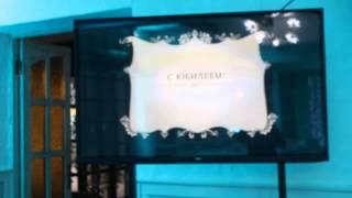 видео плазменных панелей и прокат телевизоров