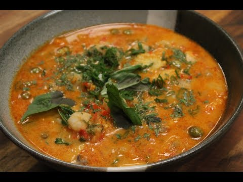 Thai Red Curry | Asian Cuisine | Sanjeev Kapoor Khazana