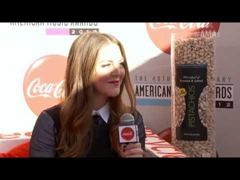 Allison McNamara Interview Part 1  - Coca-Cola Red Carpet LIVE!@ the 2012 AMAs