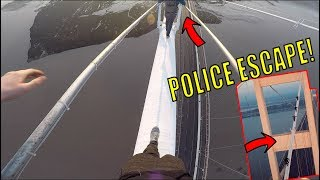 CRAZY BRIDGE CLIMB! *POLICE ESCAPE*