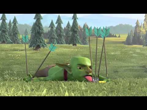 Clash of Clans   Goblin T.V.  Commercial !