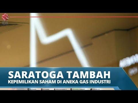 SARATOGA TAMBAH KEPEMILIKAN SAHAM DI ANEKA GAS INDUSTRI