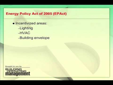 Energy Rebates: Using EPAct Incentives to Reduce Energy Costs
