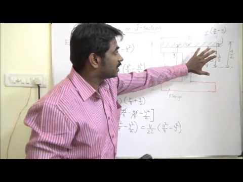 Shear Stress In I Section