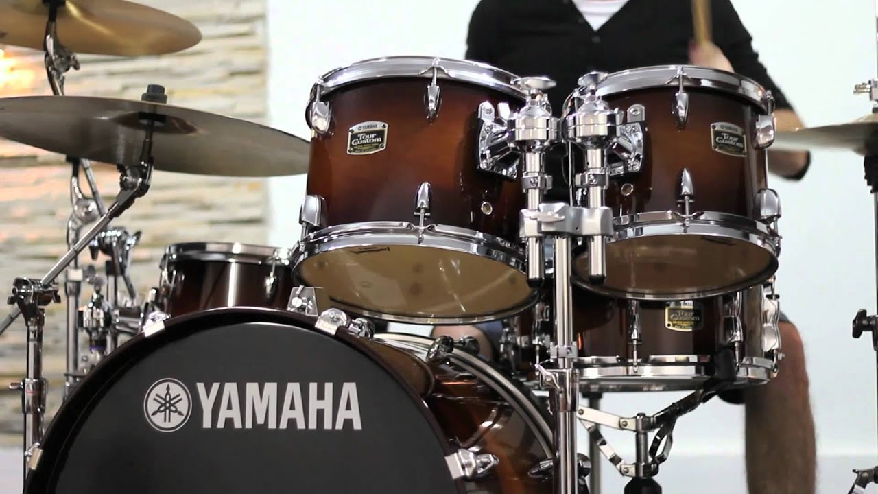 yamaha tour custom maple shell hd youtube. Black Bedroom Furniture Sets. Home Design Ideas