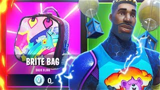 New SECRET SKINS Unlocked! How To Unlock New BRITE BAG Back Bling In Fortnite! (New Secret Skins)