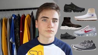 Parlons sneakers: balenciaga, nike air vapormax, aw run clean...