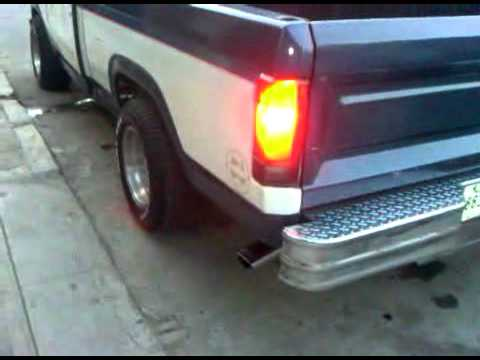 1980 Ford F150, Exhaust Sound, 302, V8, 5.0, manual 4spd ...