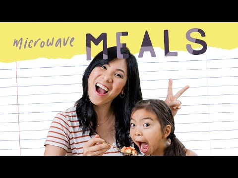 3 MICROWAVE MEALS For Kids! Back To School With Kindle | HONEYSUCKLE