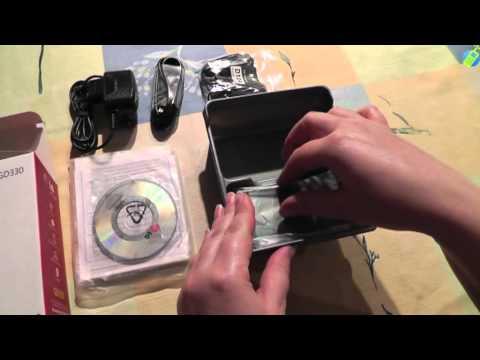 unboxing pl LG GD330 rozpakowanie po polsku