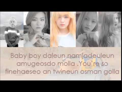 Red Velvet - Ice Cream Cake (Lyrics)