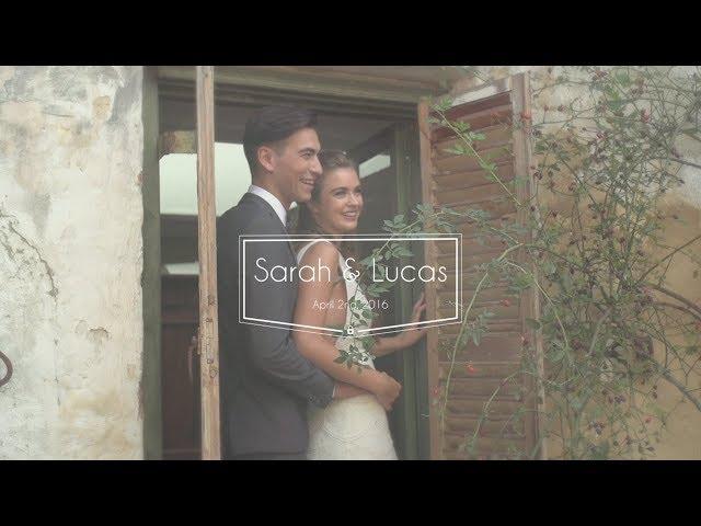 Sarah & Lucas Wedding at Montsalvat
