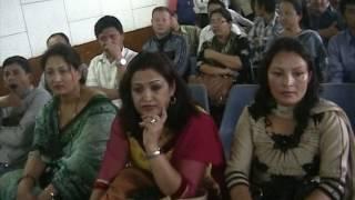 Biku Lama- Soinam Book Launching Program On June 17, 2013, Nepal Academy Hall, Katmandu, Nepal.