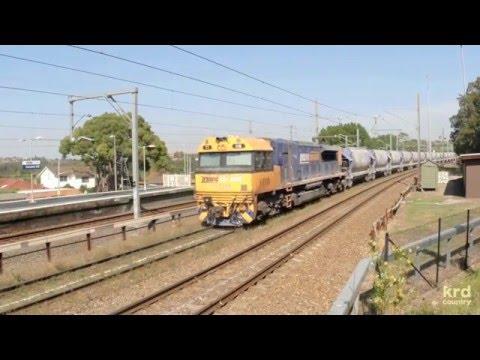 Australian Trains and Railways: Trains on the Metropolitan Freight Network Sydney