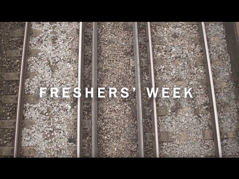 Freshers' week at Sussex