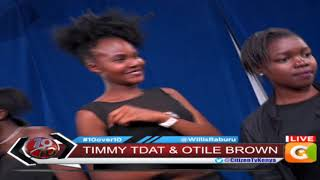 Timmy Tdat, Otile Brown on Stage Ten #10Over10
