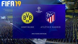 FIFA 19 - Borussia Dortmund vs. Atlético Madrid @ Signal Iduna Park