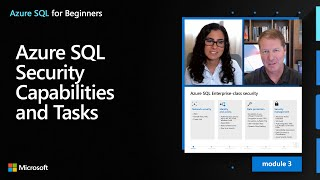 Azure SQL Security Capabilities and Tasks | Azure SQL for beginners (Ep. 21)