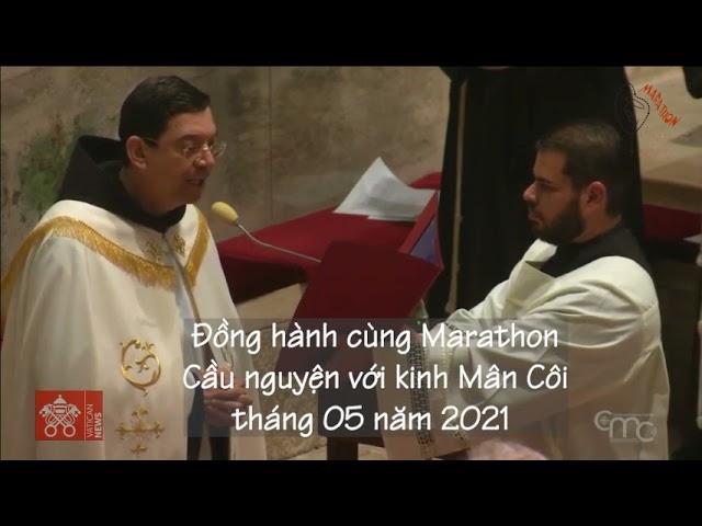 04/05 Kinh Mân Côi tại Vương Cung thánh đường Truyền Tin (Israel).