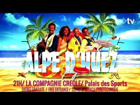 Alpe d'Huez - La Compagnie Créole en concert