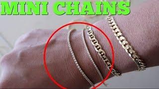 Mini Diamond Chains/Bracelets REVIEW