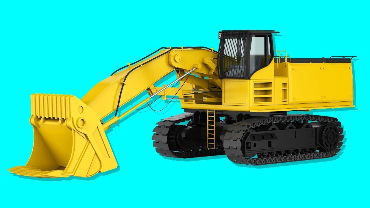 Kucuk Cocuklar Icin Is Makineleri Dozer Greyder Forklift Is