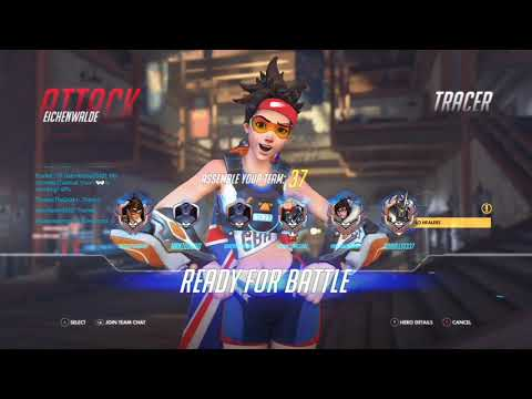 Overwatch Xbox one life of a silver tracer/junkrat