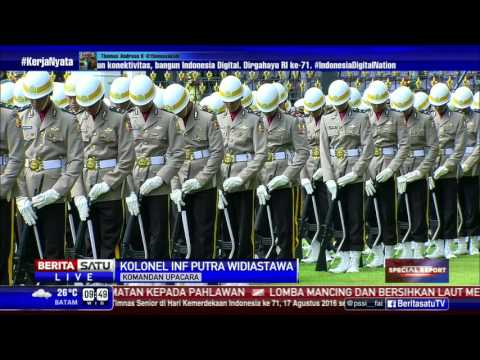 Pembacaan Teks Proklamasi Kemerdekaan Republik Indonesia