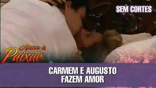 Abismo de Paixão - Carmem e Augusto fazem amor (SEM CORTES)