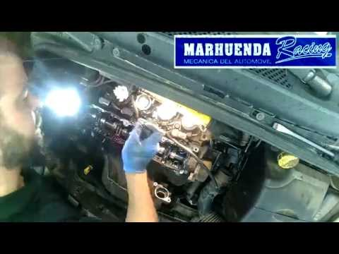 Desmontaje y reparación de perdida inyectores PSA