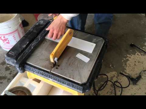How to cut glass tile without chipping