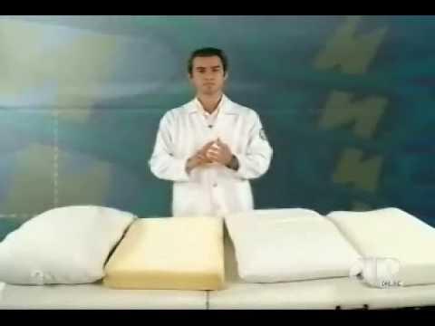 Material travesseiro e dor no pescoço!