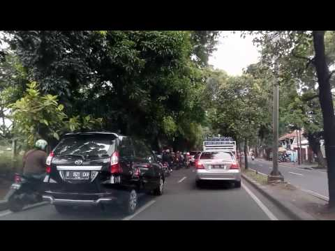 Driving in Jakarta, Traffic Jam in Jakarta, Traffic jam in Pondok Bambu, Traffic jam in BKT