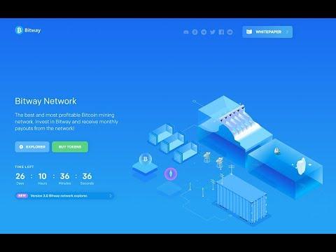Bitway.net - The Best Bitcoin Mining Network