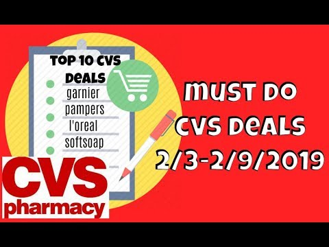 Top 10 Deals At CVS Starting 2/3-2/9/2019 | How To Coupon At CVS