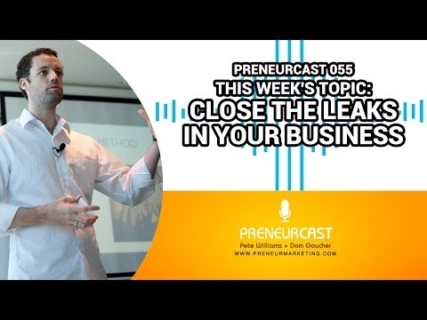 How To Reduce The Profit Leakage In Your Business [PreneurCast055]