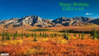 Farzaan   Birthday   Nature