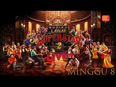[LIVE] Muzikal Lawak Superstar 2 Live + | Minggu 8