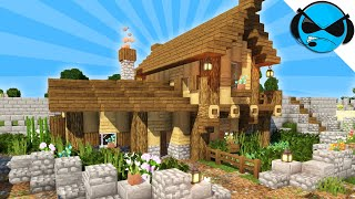 How To Build A Village House Minecraft Tutorial ▻ Minecraft Medieval Village Part 20 YouTube