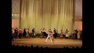 """Ансамбль Моисеева, танго для туристов """"Вечер в таверне"""""""
