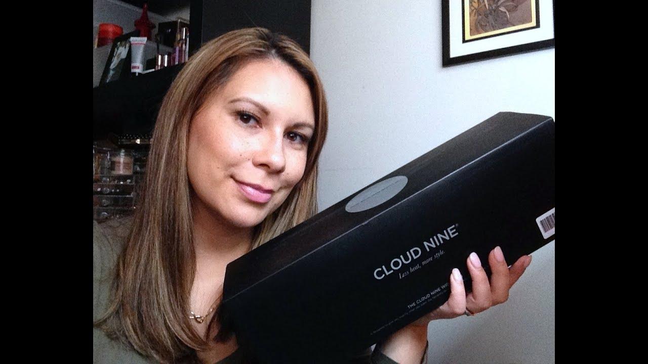 Cloud 9 wide hair straightener review