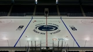 Pegula Ice Arena Rink Painting