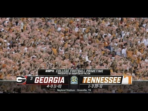 2019 #3 Georgia At Tennessee Full Game