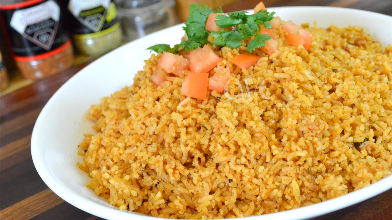 How To Make Mexican Rice How To Make Spanish Rice Cooking With Carolyn