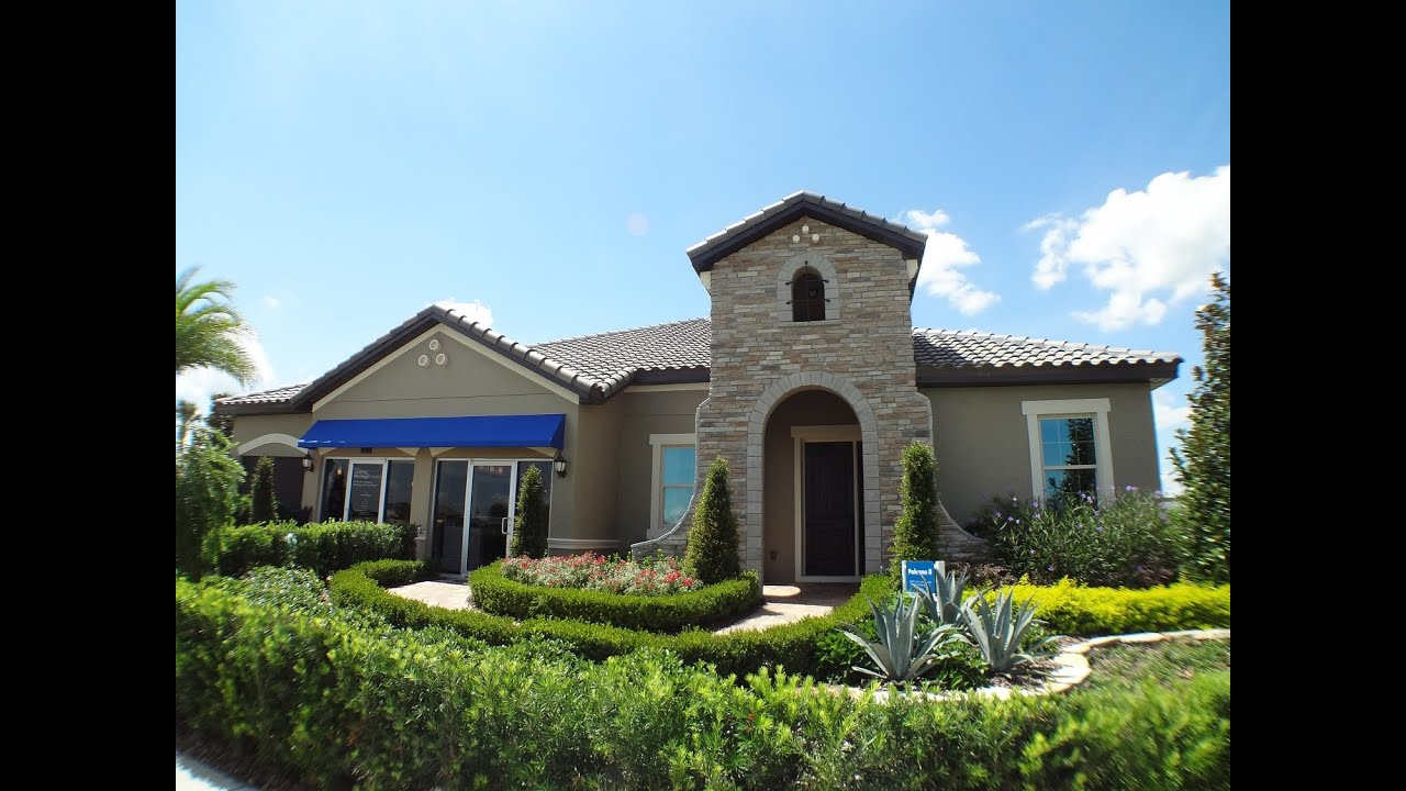 winter garden new homes twinwaters by meritage homes palermo ii model - New Homes Winter Garden