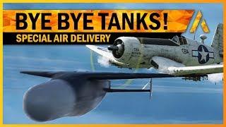 How Far Can You GLIDE BOMB a TANK!? - BF5 Pacific Corsair